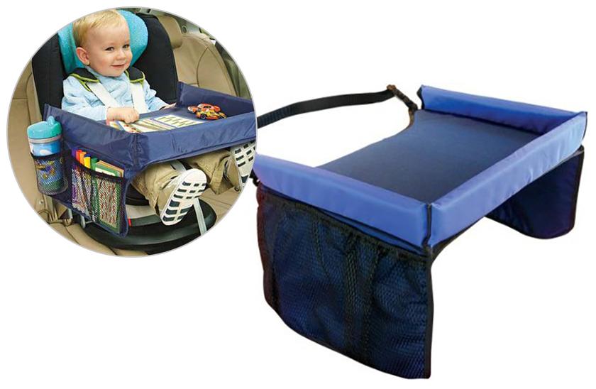 Dětský stoleček nejen do auta - Vaše dítě bude mít vše po ruce