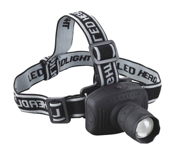 LED čelovka - Dosvit až 150 metrů