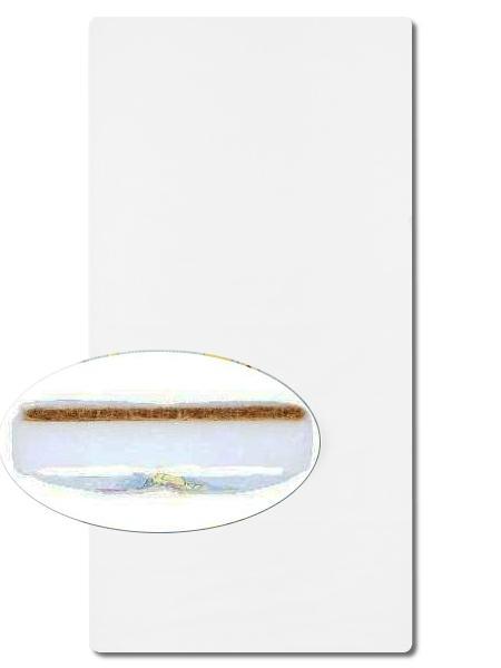 Matrace molitan-kokos 140x70 bílá