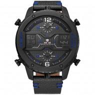 Pánské masivní hodinky Weide Luxury - Modré