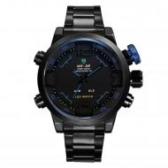 Pánské hodinky Weide Hard - Černo-modré