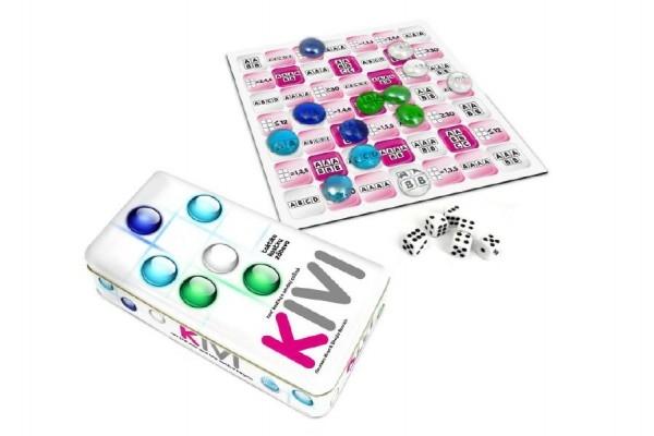 Kivi taktická společenská hra v plechové krabičce 11x18cm 8+ STRAGOO