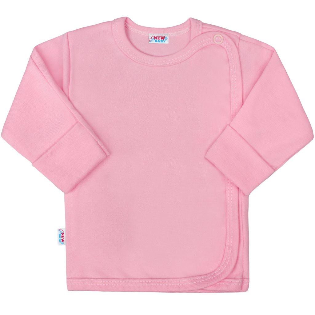 Kojenecká košilka New Baby Classic II růžová - Velikost: 56 (0-3m)
