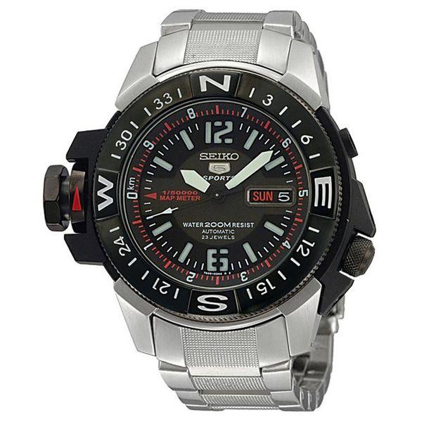 Pánské hodinky Seiko SKZ229K1 (47 mm)  331a7d0d68