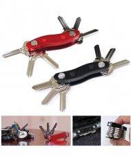 Organizér na kľúče - červený + poštovné len za 1 EURO