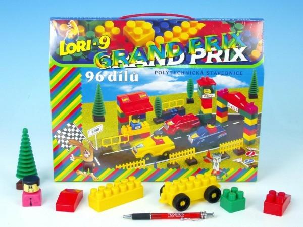 Stavebnice LORI 9 plast 96ks v krabici 35x28x7cm