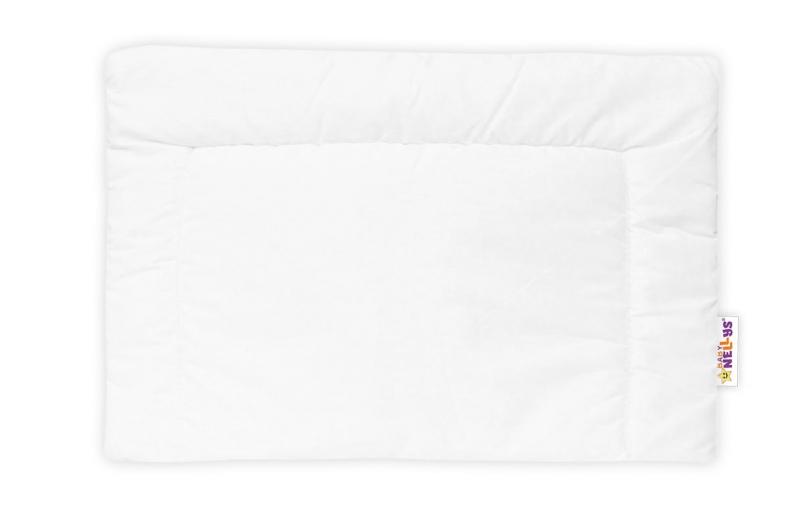 Samostatný polštářek 40 x 60 cm - bílý   Velikost povlečení: 135x90