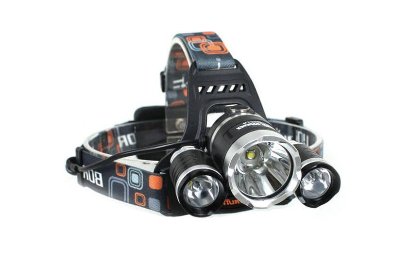 Výkonná čelovka - BORUIT 3-LED (RJ-3000)