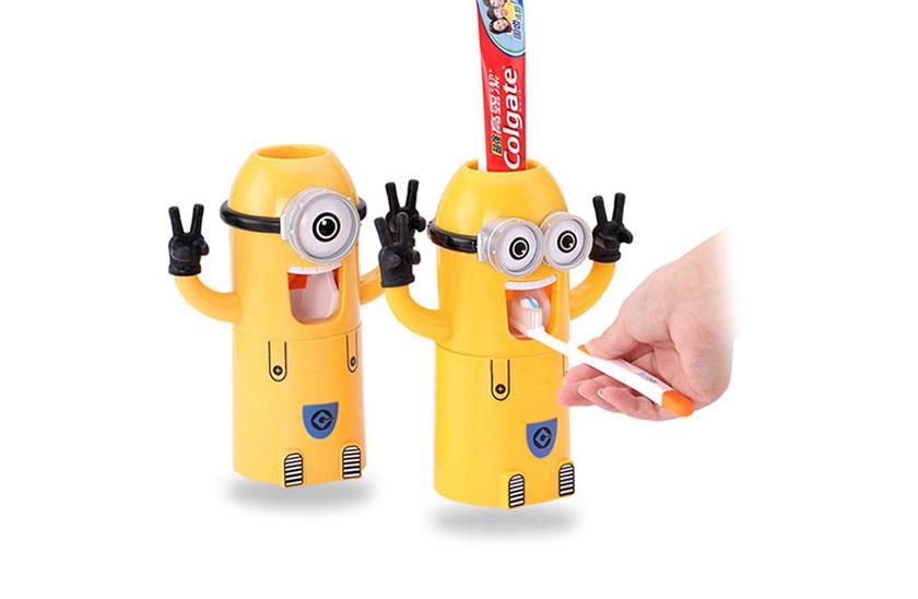 Mimoňí - dávkovač zubní pasty