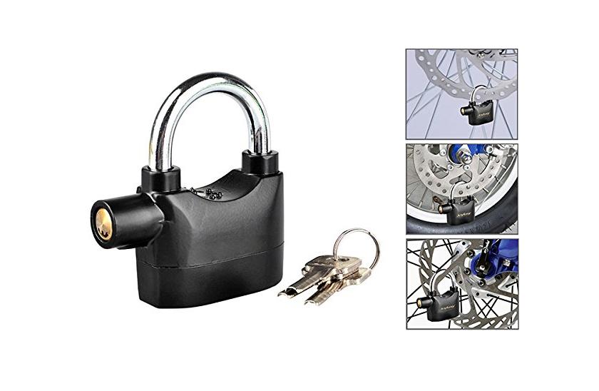 Visací zámek s alarmem - Alarm Lock 110db