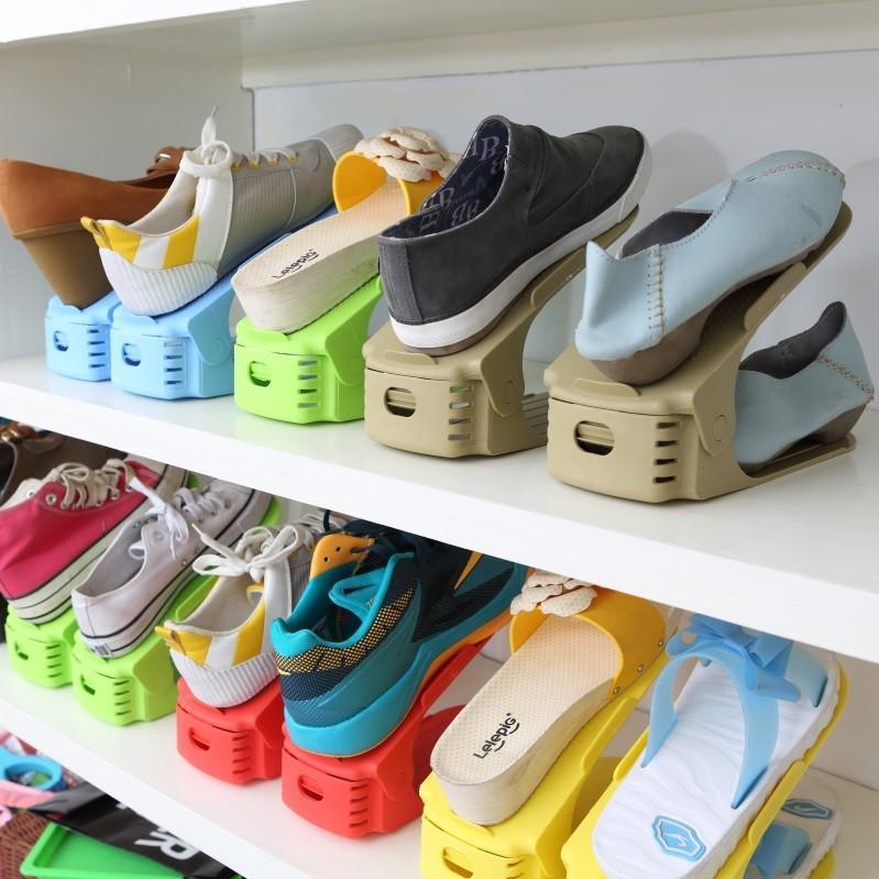 Plastový úložný organizér na topánky - viac farieb | MILUJEME ...