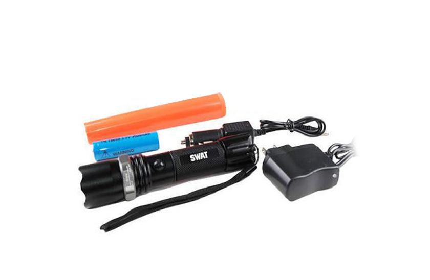 Profesionální policejní LED baterkas kuželem