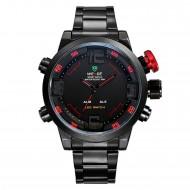 Pánské hodinky Weide Hard - Černo-červené