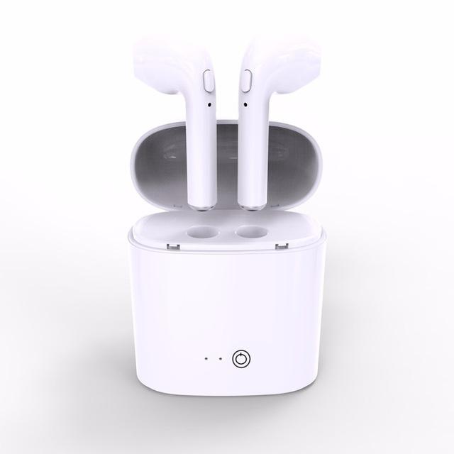 Bezdrázová sluchátka AirPods i7S a dobíjecí box