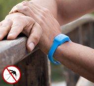InnovaGoods Citronella Szúnyogriasztó Karkötő - Kék + postaköltség csak 1 Ft