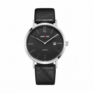 Unisex hodinky Weide Retro - Černé
