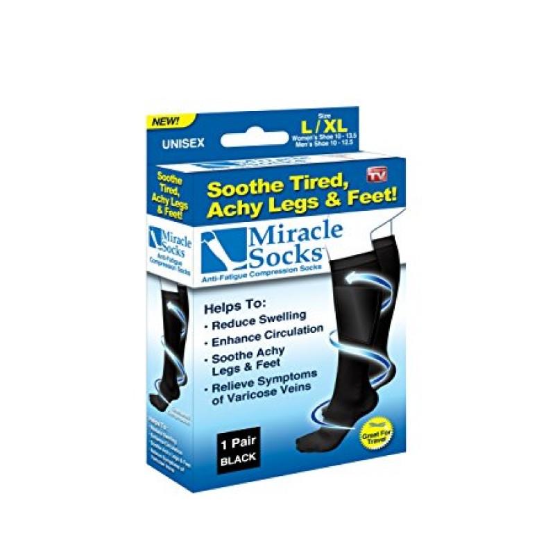 Miracle Socks - Kompresní zdravotní ponožky - 1 pár