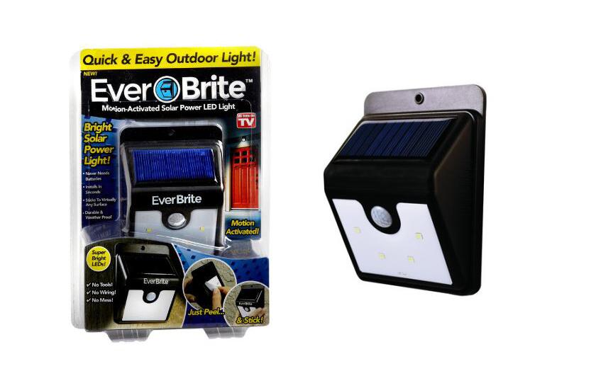 Venkovní LED osvětlení s pohybovým senzorem - solární dobíjení