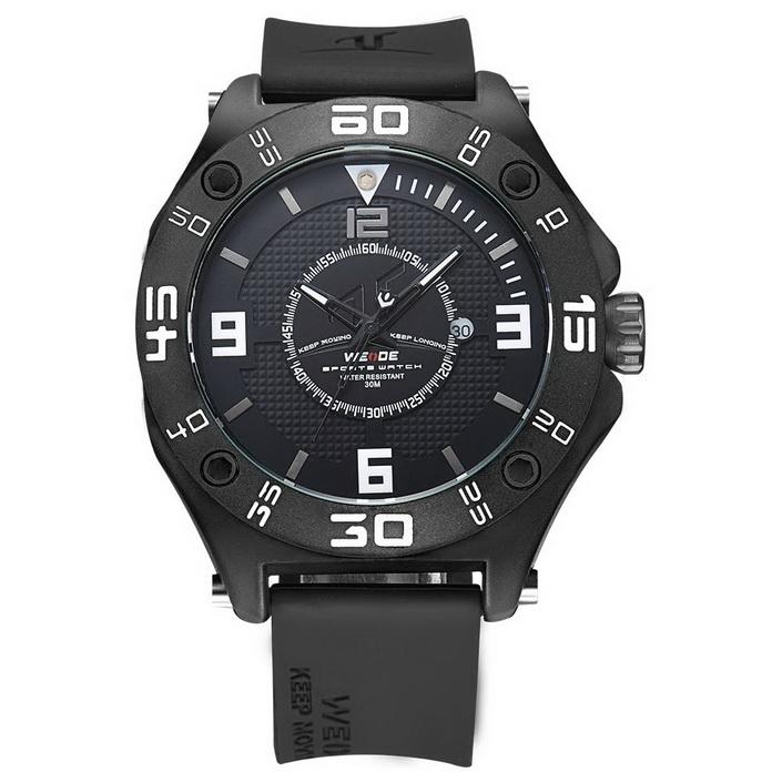 Levně Pánské hodinky Weide Stylo - Černé