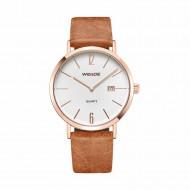 Unisex hodinky Weide Retro - Zlaté