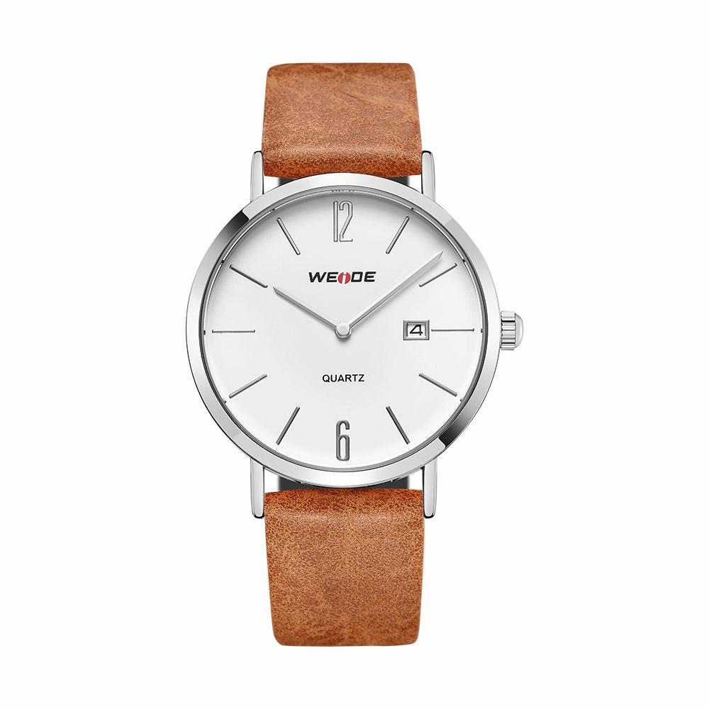 Levně Unisex hodinky Weide Retro - Stříbrné