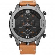 Pánské masivní hodinky Weide Luxury- Béžové