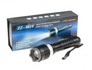 LED-Taschenlampe mit Elektroschocker und ZOOM