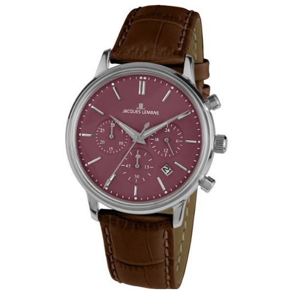 Pánské hodinky Jacques Lemans 1-209E (39 mm)  2b509670d6