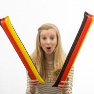 Grzechotki flaga Niemiec + opłata pocztowa tylko 1 zł