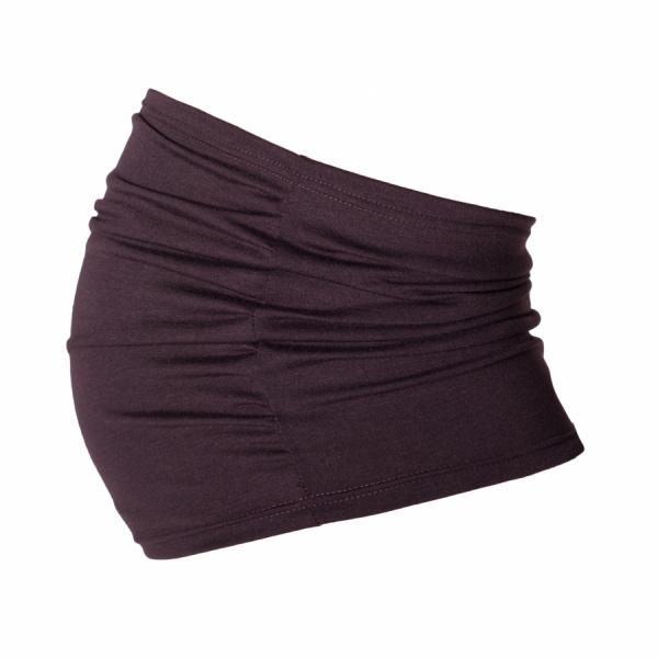 Těhotenský pás - hnědý | Velikosti těh. moda: S/M