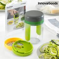 Struhadlo a Spiralizér na Zeleninu s Recepty InnovaGoods + poštovné jen za 1 Kč