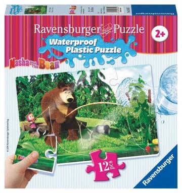 Ravensburger Puzzle 2 Máša a medveď 12 plast. dielikov