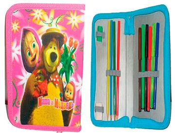 Naplnený peračník Máša a Medveď 1 - 20 cm