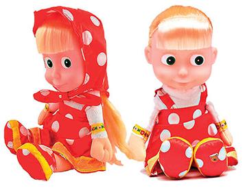 Rozkošná 29 cm bábika Máša 1