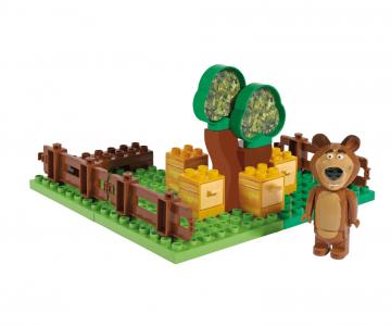 PlayBIG BLOXX Stavebnica Máša a medveď Míšova zahrádka