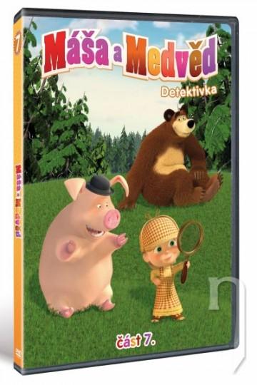 DVD Máša a Medveď 7 - Detektivka