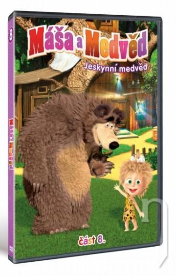 DVD Máša a Medveď 8 - Jaskynný medveď