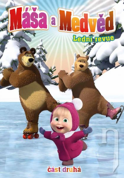 DVD Máša a Medveď 2 - Ledná revue