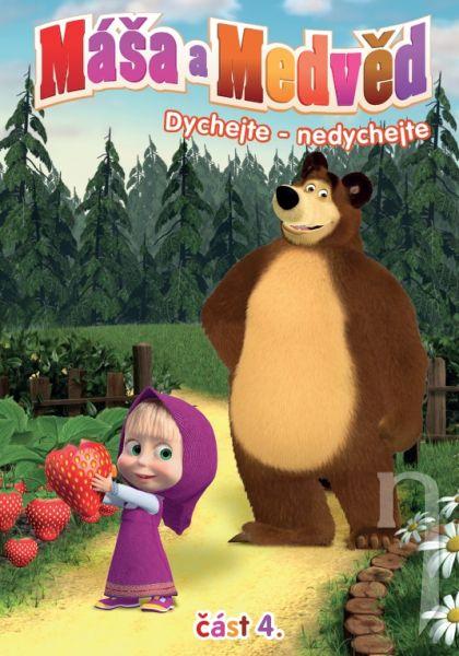 DVD Máša a Medveď 4 - Dýchajte, Nedýchajte