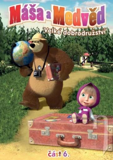 DVD Máša a Medveď 6 - Veľké dobrodružstvo