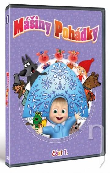 DVD Mášine rozprávky 1