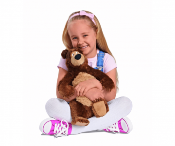 Simba Máša a medveď Plyšový medveď 43 cm