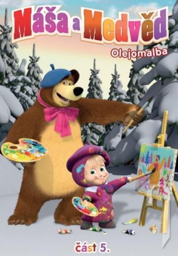 DVD Máša a Medveď 5 - Olejomalba