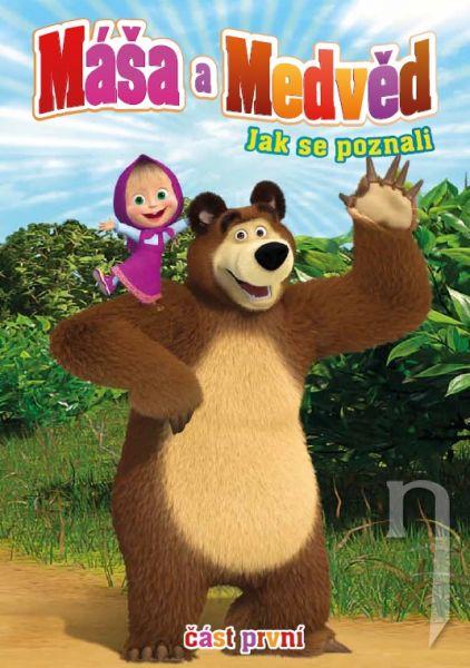 DVD Máša a Medveď 1 - Ako sa spoznali