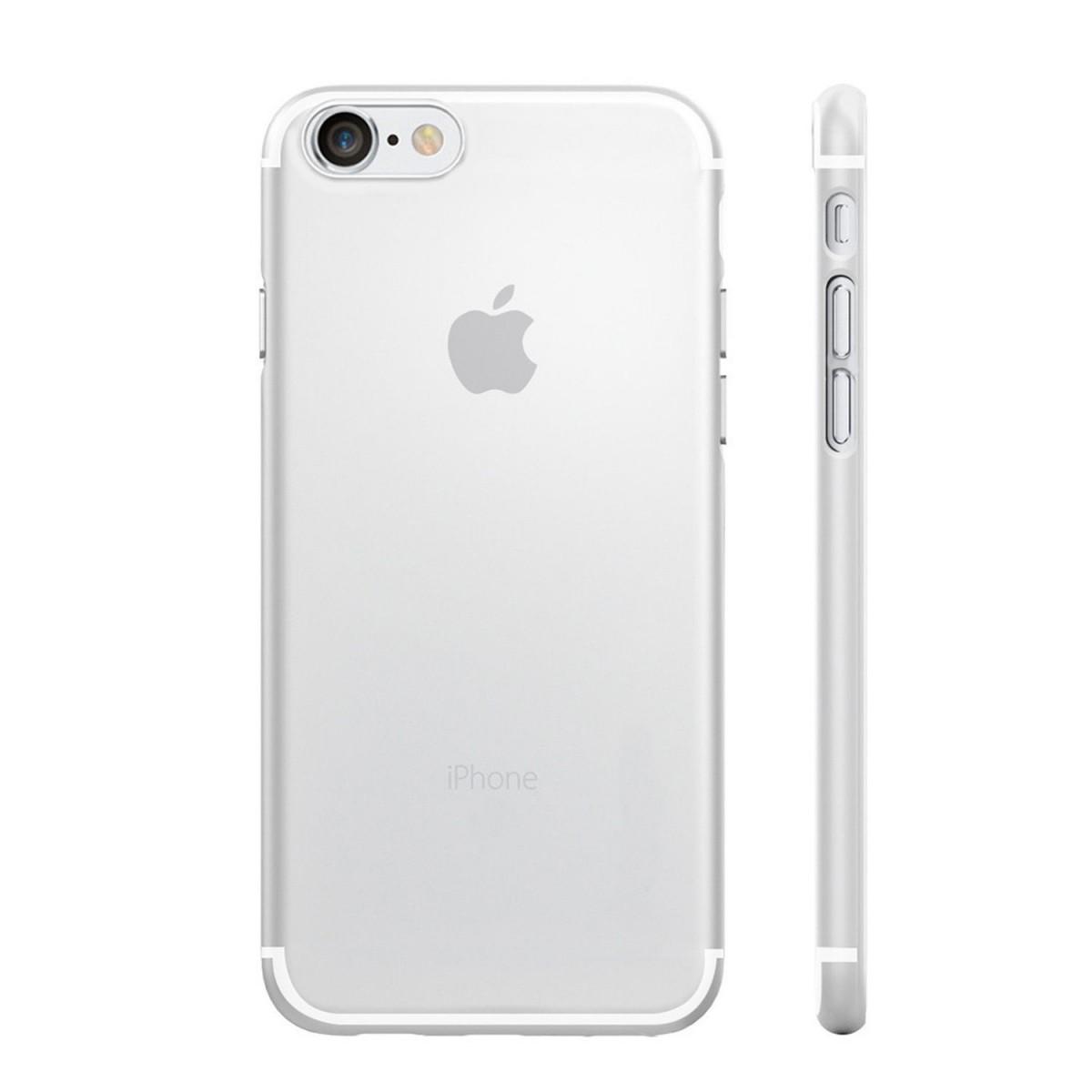 Průhledný kryt na iPhone 7 (fólie a stylus ZDARMA)