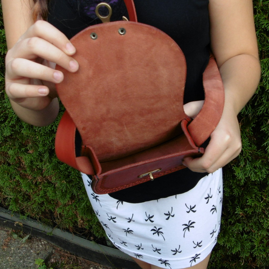 Malá kabelka s dlouhým uchem pinto matná