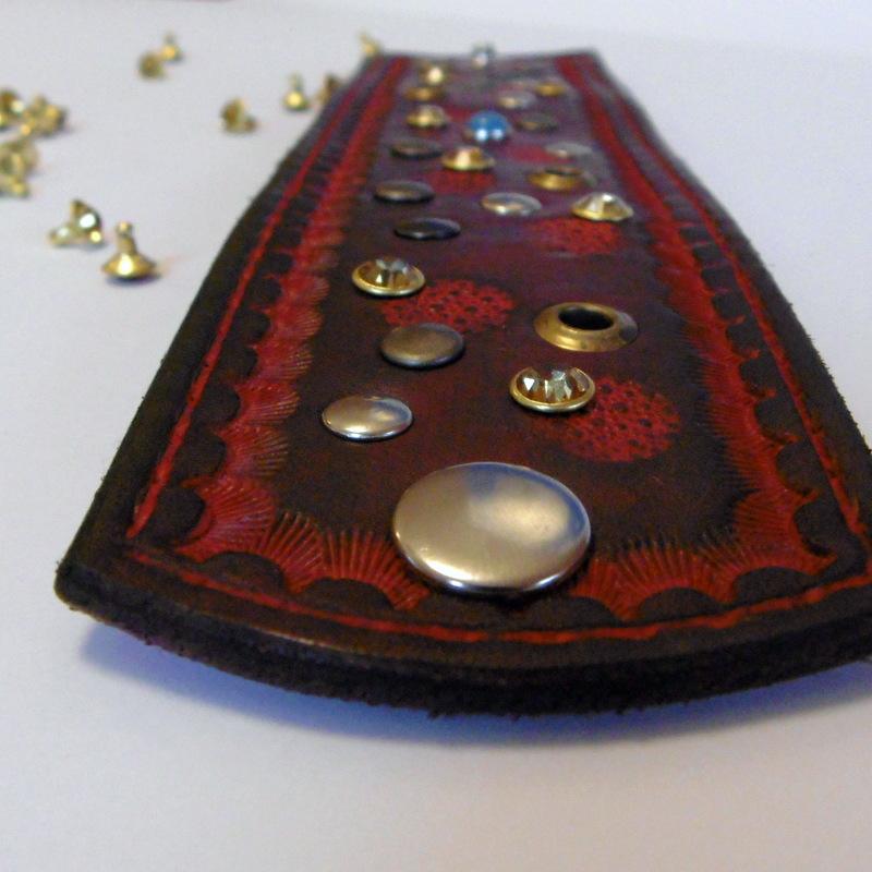 Gipsy 54 kožený náramek