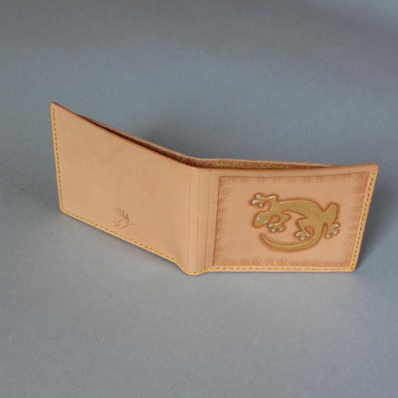 Pánská peněženka - gold gecko