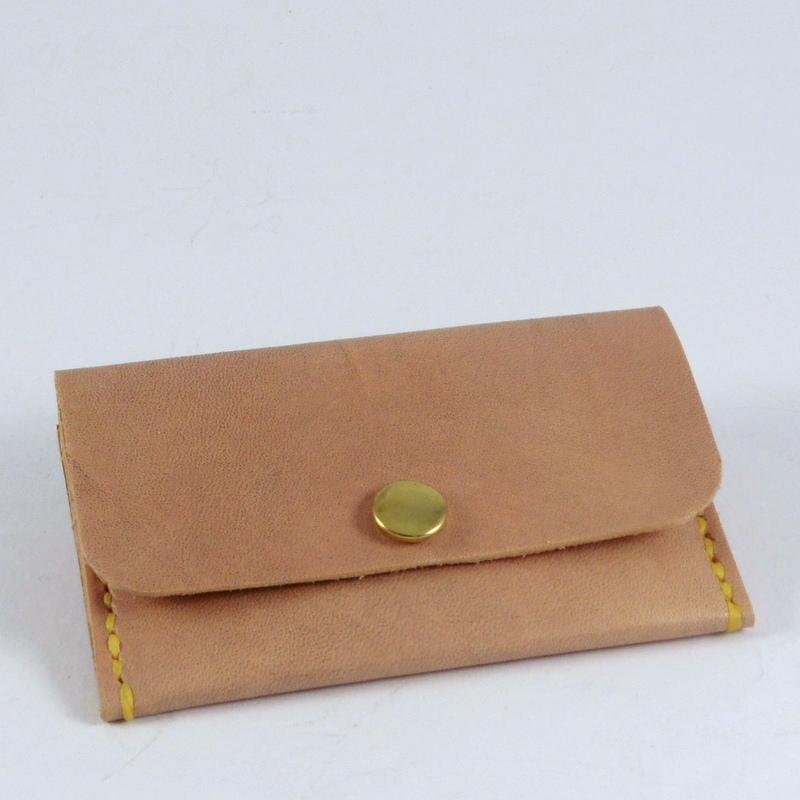 Kreditovka / peněženka malá, patina přírodní
