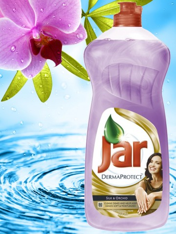 JAR DermaProtect 750 ml Silk&Orchid